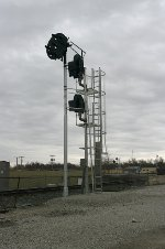 NS Northbound signal