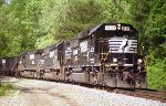 NS'S Tennessee Division Knoxville District Oakdale Line