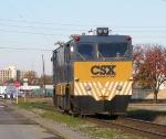 CSX W004 heads for the Georgia Subdivsion