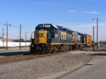 CSX F751 pulling out of the Main Lead to back in to a Yard Track