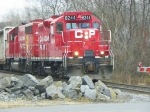 Canadian Pacific 8244 and 4654