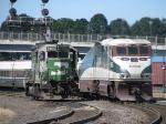 AMTK465 & BNSF2905