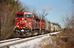 CP 252 Hustles South out of the Point