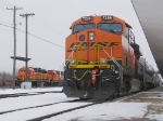 BNSF Holiday Express, Wedged Yard Goats