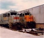 L&N U28B 2503 and U23B 2735
