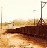 Turntable at former Monon South Hammond yard.