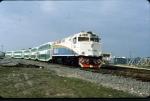 Ex Amtrak 808 and ex GO Transit Commuter cars