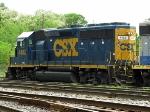 CSXT EMD GP40-2 4452