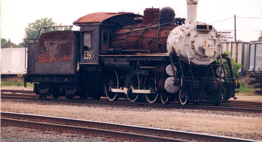 CN 1395 steam engine