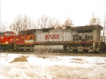 BNSF 743 in Battle Creek