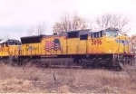 Union pacific sitting by Helmer rd