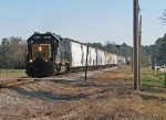 CSX A721 Highballs past the Signals at 107