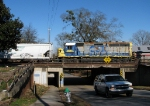 CSX 6100 crossing College Avenue