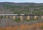 NS 172 crossing the spectacular Wells Viaduct