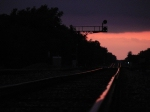 Sunset on the Transcon.