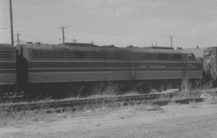 Erie-Lackawana E8A