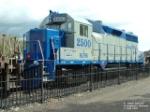 OMLX 2500 GP35 westbound