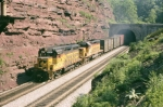 CO 4207 4251 exits Sand Patch Tunnel west bound on the Keystone sub,