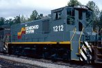 Seaboard System MP15T #1212, brand new and in transit to Rice Yard at Waycross (GA),