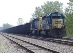 CSX 8406 waits for a proceed indication