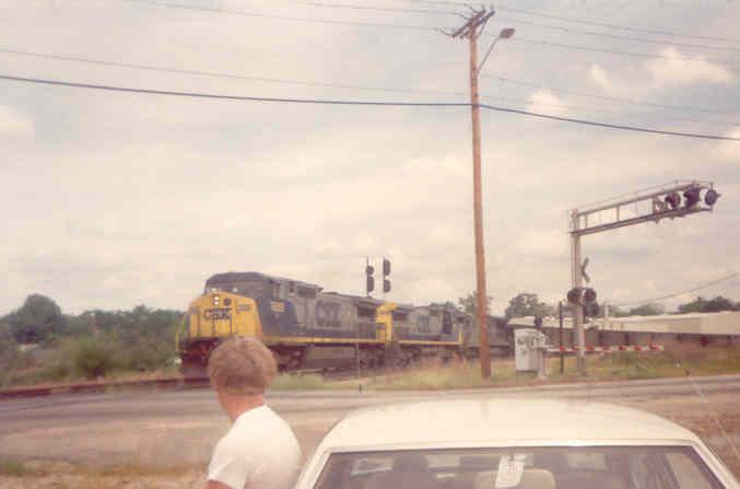 CSX Southbound Coal Train