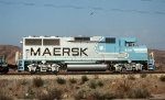 ATSF 146--Maersk Colors