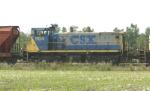 CSX 1104 in tow