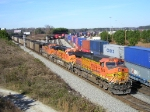 BNSF 5674 Elephant Style On NS 735 Southbound