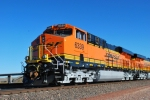 BNSF 6339 close up shot with BNSF 6337 behind her.  They are only 10 days old out of GE locomotive plant Erie, PA.