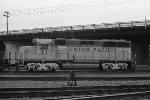 UP GP40X 91 at Argo