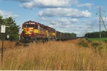 Westbound hopper train