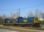 CSXT 1136 & 1133 In The Yard At Strawberry