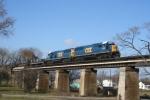 CSXT Train K587