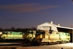 Louisville & Indiana RR Yard