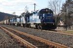 NS H2W with Five Blue Geeps