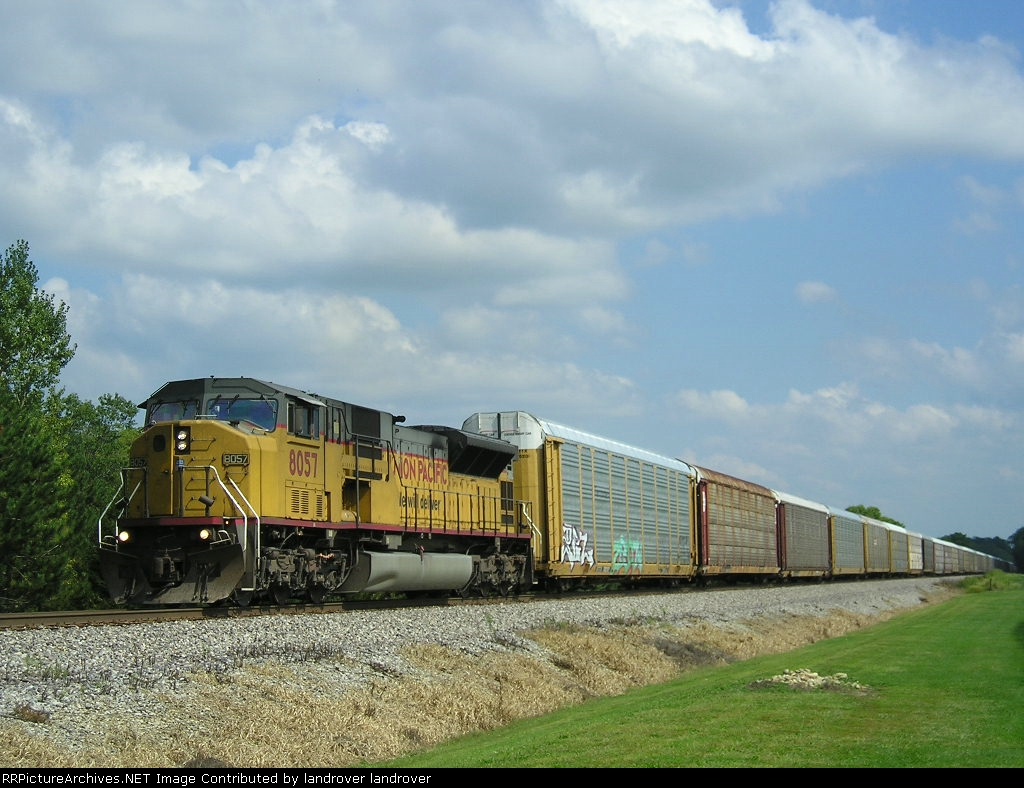 UP 8057 On NS 288 Westbound