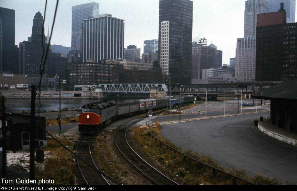 Amtrak in the City