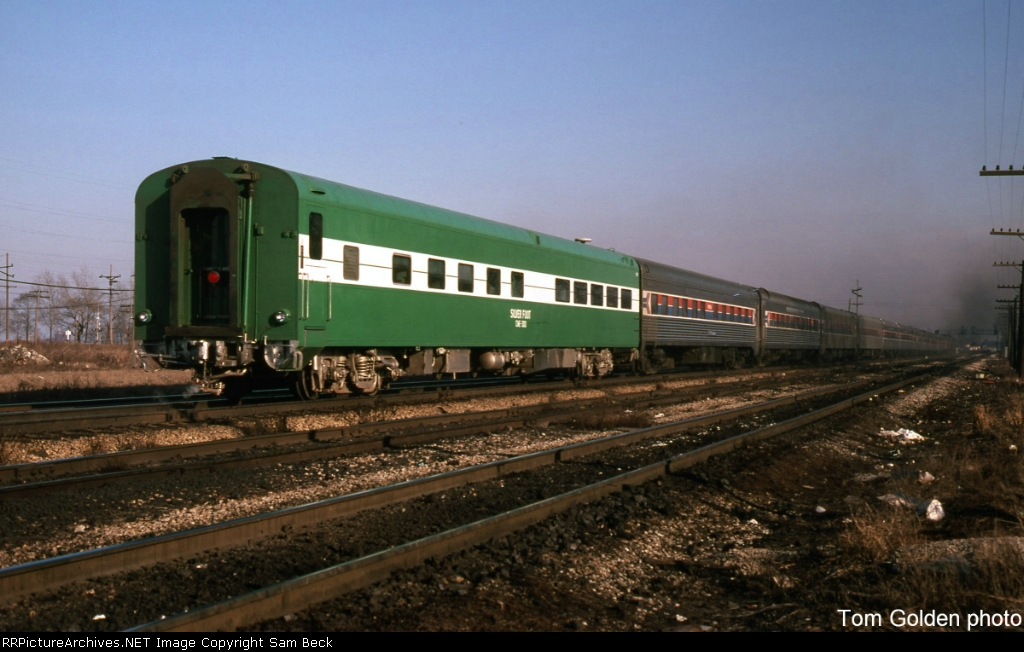DE 300, the Silver Foot, on an Eastbound Amtrak