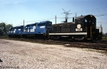 IHB 8859 with New Conrail GP40-2s
