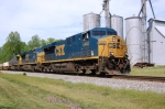 CSX ES-44DC #5440 Leads a southbound past the old mill