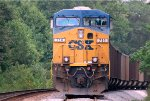 CSX ES-44AC #714 waits for a crew in the siding just north of St. John Church Road