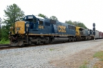 Looks can be deceiving, CSX SD-50 #8518 is actually working a local at Collier Yard