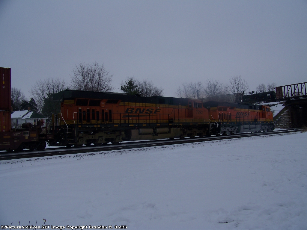 BNSF 7292 BNSF 7342