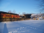 BNSF 7235 NS 7675