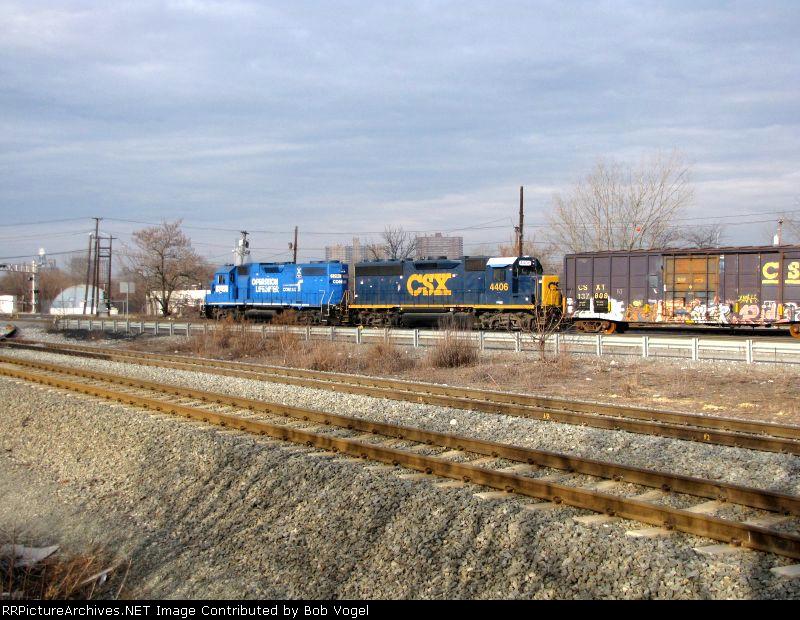 CSX 4406 and NS 5290