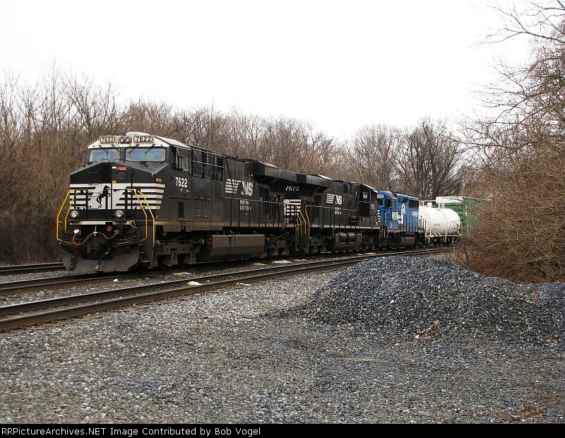 NS 7622, 7572, and 3026