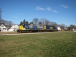 CSX 2735 and 4406