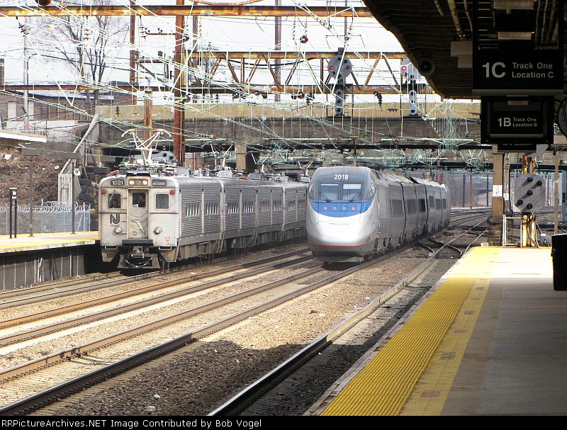 AMTK 2018 and NJT 1321
