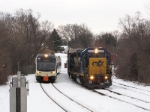 CSX 4406 and NJT 3511