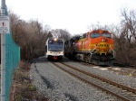 NJT 3505 and BNSF 4785